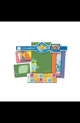 Hindu Gods Set [With 1 Sticker SheetWith 6 EnvelopesWith 8 Letter Sheets]
