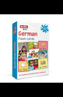 Berlitz Language: German Flash Cards