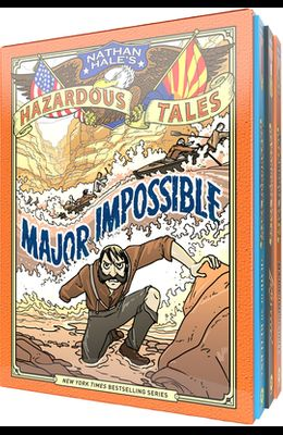 Nathan Hale's Hazardous Tales Third 3-Book Box Set
