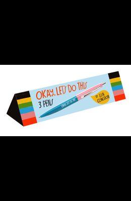 Okay, Let's Do This Pen Set