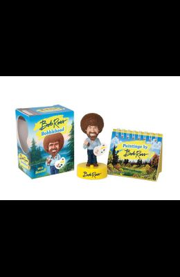 Bob Ross Bobblehead: With Sound! [With Book]