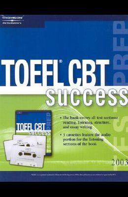 TOEFL Success CBT W/Audio Cass 2003 [With Cassettes]