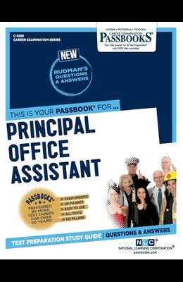 Principal Office Assistant, Volume 2595