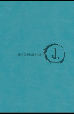 Jesus-Centered Bible Nlt, Turquoise