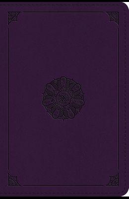 ESV Large Print Bible (Trutone, Lavender, Emblem Design)