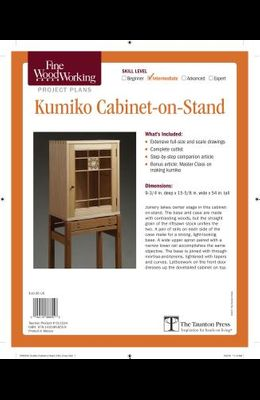 Fine Woodworking's Kumiko Cabinet-On-Stand Plan