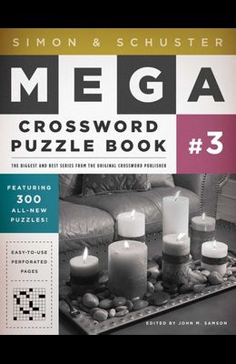 Simon & Schuster Mega Crossword Puzzle Book #03