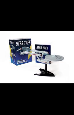 Star Trek Light-Up Starship Enterprise [With Book(s) and 5 Assemble-Your-Own Light-Up Starship Replica]