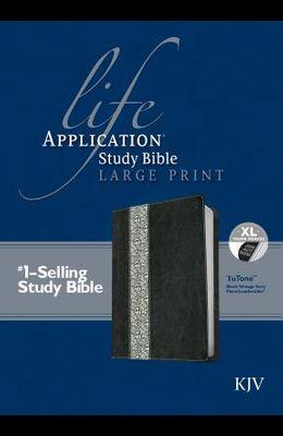 Life Application Study Bible KJV, Large Print, Tutone