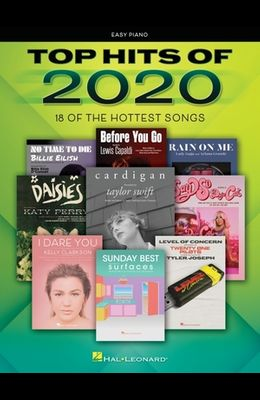 Top Hits of 2020: Easy Piano Songbook